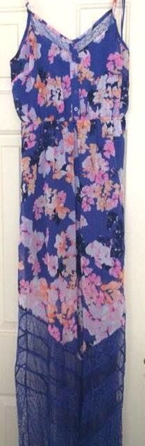 Candie's Maxi Floral Dress