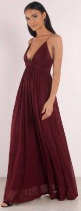 Tobi Garnet Formal Dress