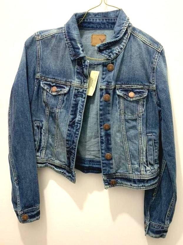 fc1246b8e American Eagle Outfitters Blue Jean Jacket