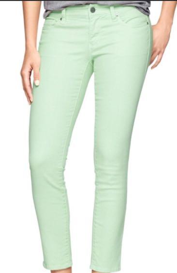 Gap Mint Jeans