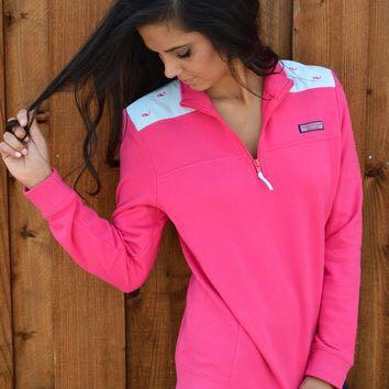 Pink Vineyard Vines Shep Shirt