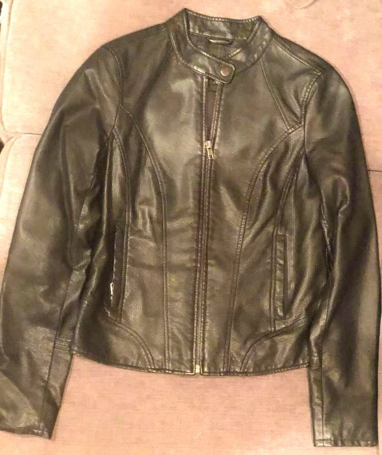cheap price best online quite nice The Limited Black Leather Jacket