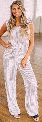 These Three Boutique These Three Dainty Printed Pants Set