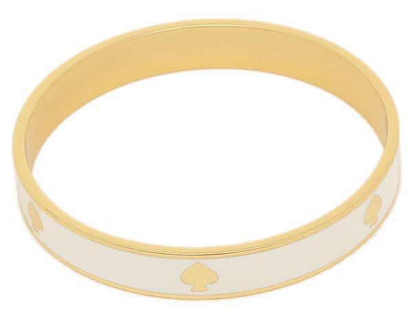 Kate Spade White & Gold Bracelet