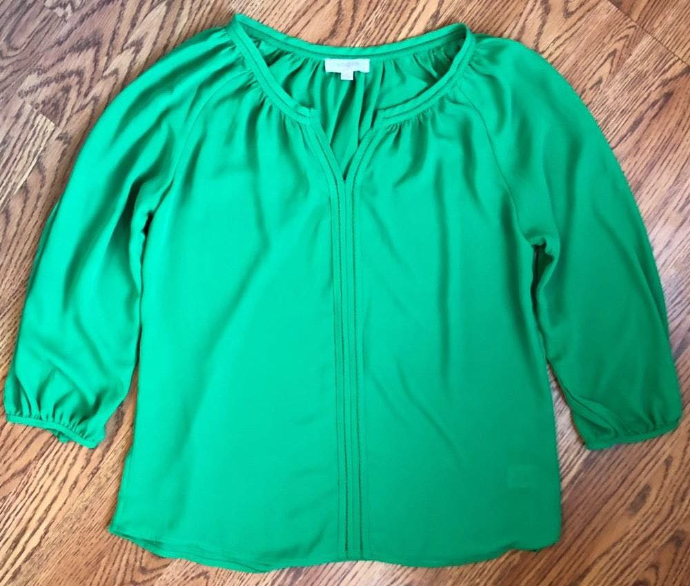 Umgee Green Top Blouse