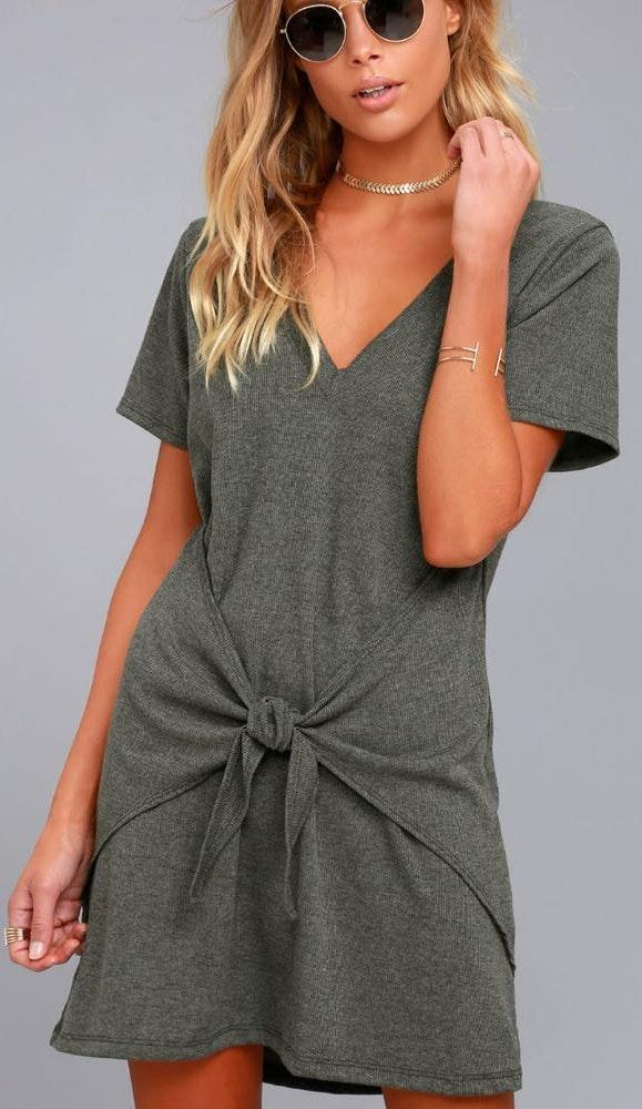 Lulus Shirt Dress
