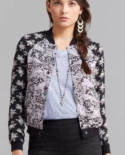 Free People Vintage Bomber Jacket