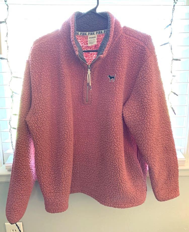 Victoria's Secret PINK Fuzzy Pullover