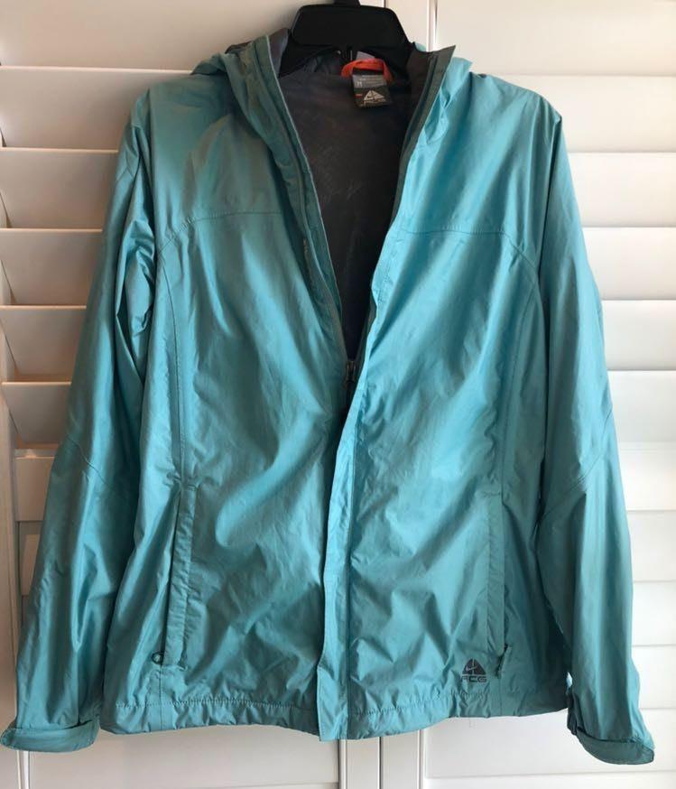 Nike Blue Windbreaker/Rain Jacket