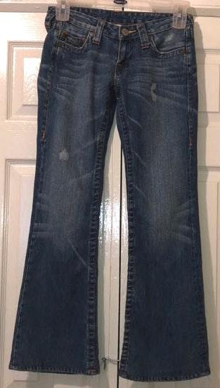 True Religion brand jeans bonby embroired