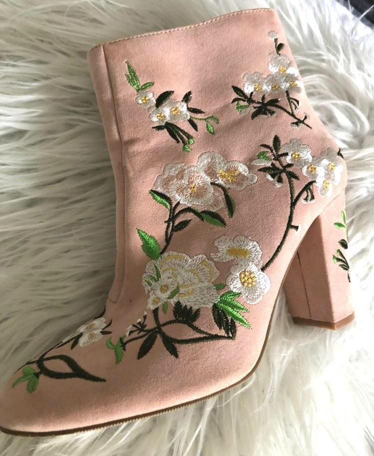 Forever 21 Light Pink Boots