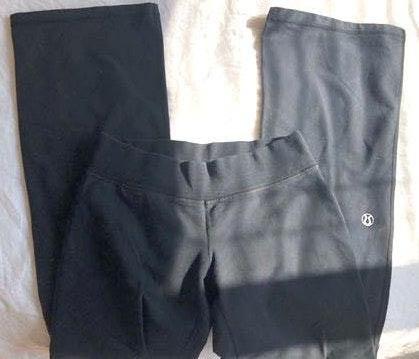 Lululemon flare black sweatpants