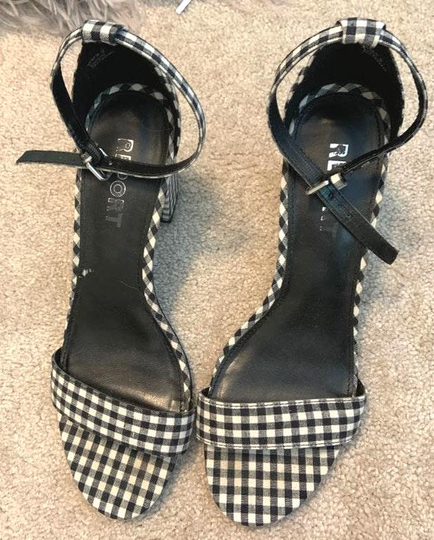 Lulus Gingham Heels
