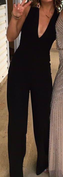 Lulus Black Jumpsuit