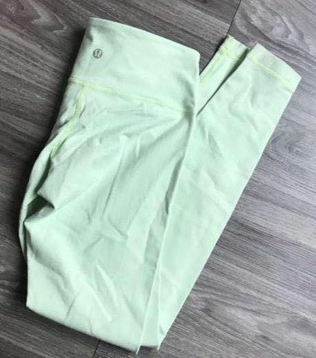 Lululemon Light Green Leggings