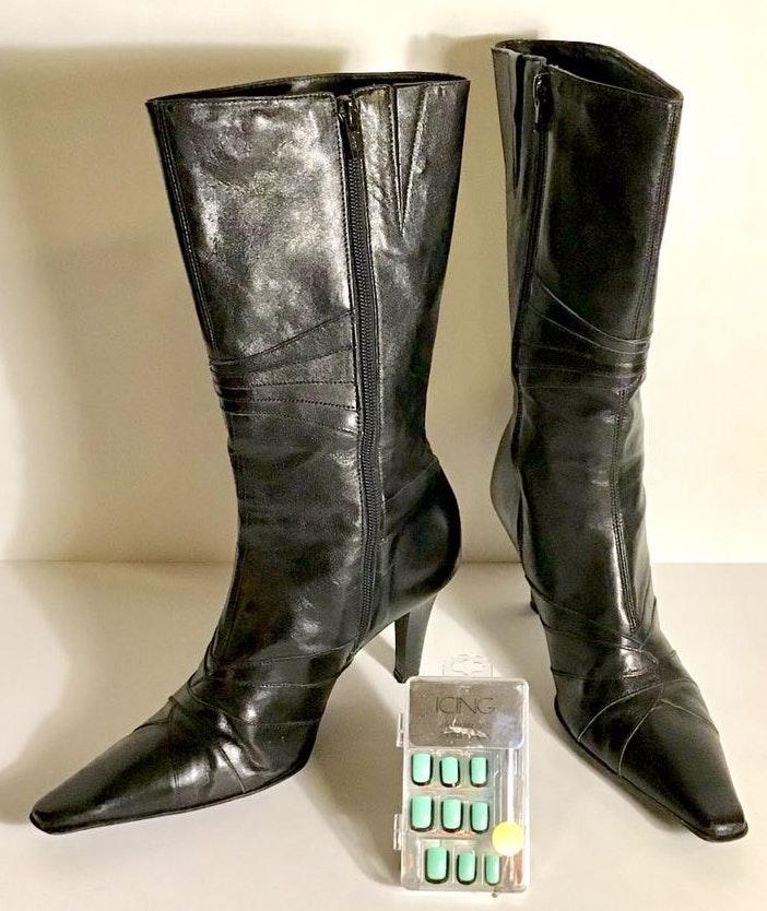 Gianni Bini Genuine Leather Boots