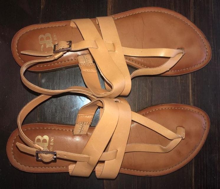 Gianni Bini Tan  Sandals