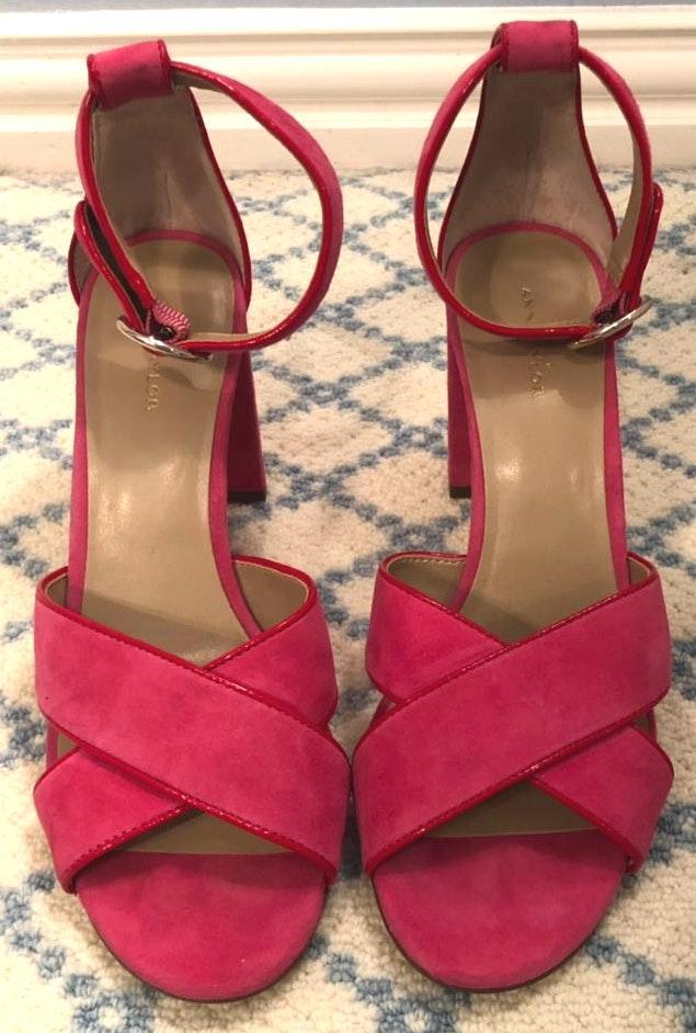Ann Taylor Pink  Heels