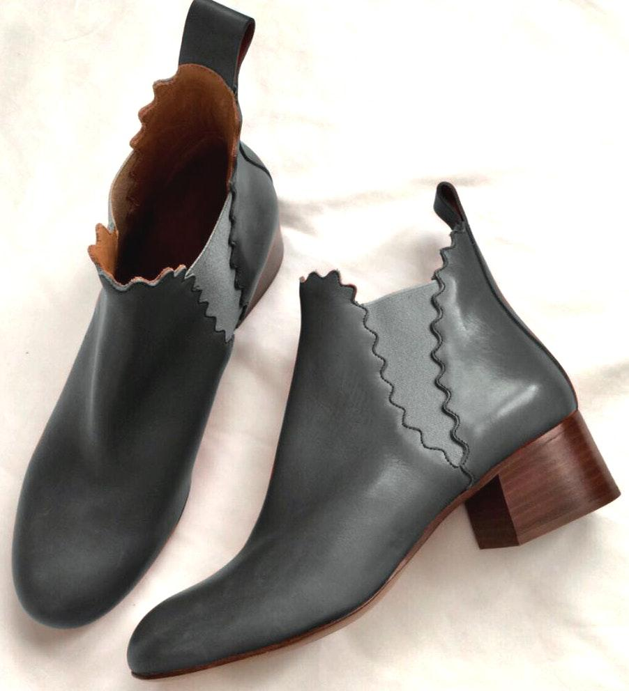 Chloé Lauren Heeled Ankle Booties