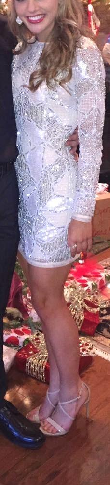 Topshop embellished dress