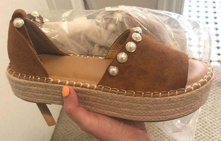 NEW platform sandals!!