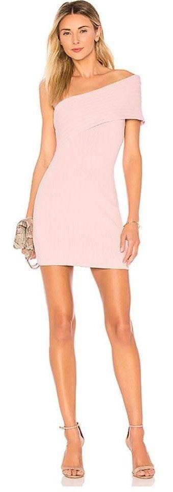 Revolve One shoulder mini dress