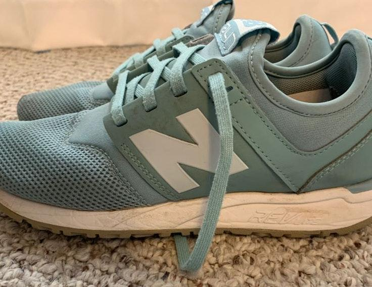 New Balance Turquoise 247 Sneakers