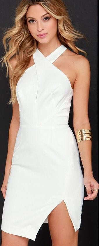 Keepsake Motionless Ivory Dress