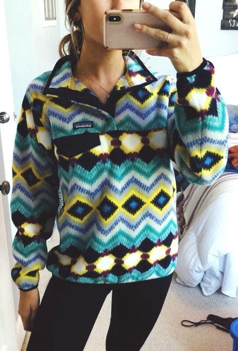 Patagonia Tribal Print Pullover