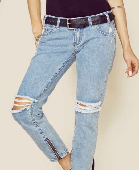 One Teaspoon Blue Velvet Freebird Jeans