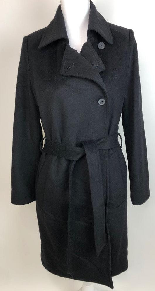 Everlane Wool Cashmere Trench Button Belted Cost