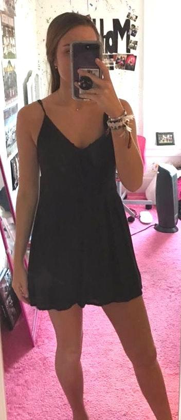 Amuse Society Black Dress