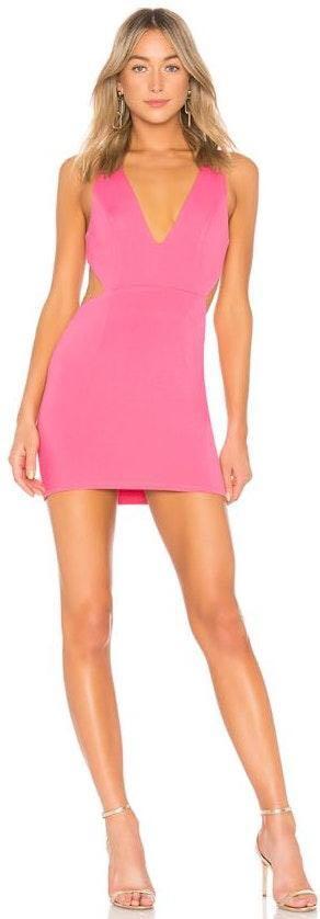 NBD Pink Mini Dress