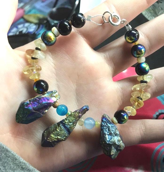 Handmade Mixed Gemstone Bracelet