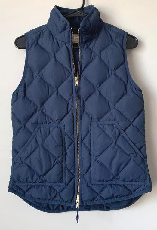J.Crew Quilted Puffer Vest