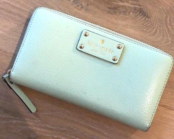 Kate Spade Sea Foam Wallet