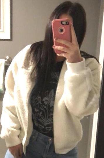 Adidas White Pixie Coat