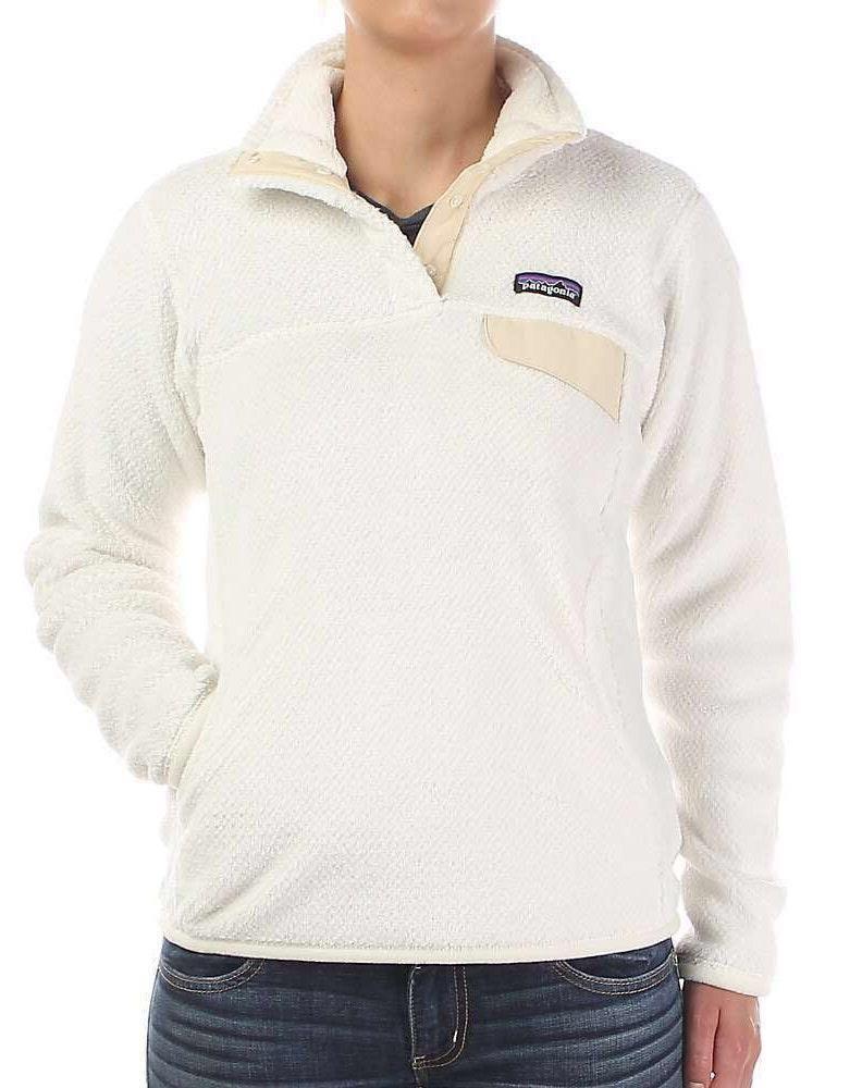 Patagonia White Fleece  Pullover