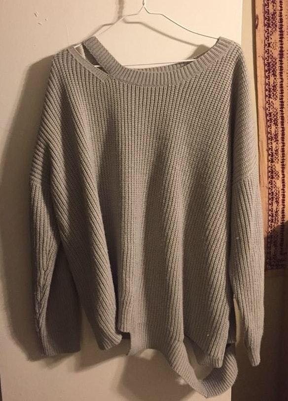 Lush Clothing Lush Distressed Sweater