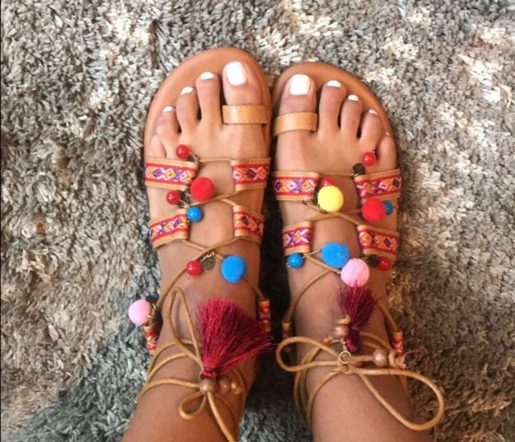 Free People Detailed Sandals