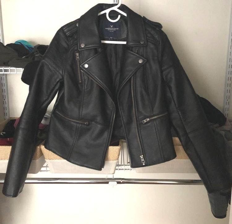 American Eagle Outfitters NWOT Leather Jacket