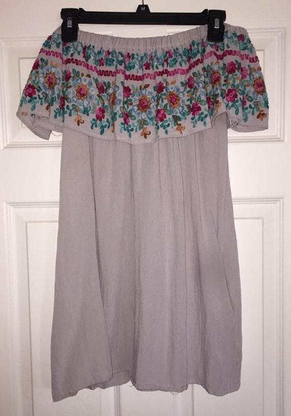 Umgee Off The Shoulder Dress