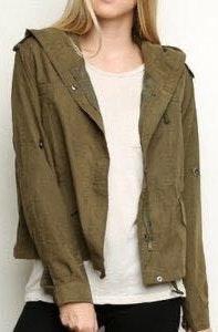 Brandy Melville Hailey Utility Jacket
