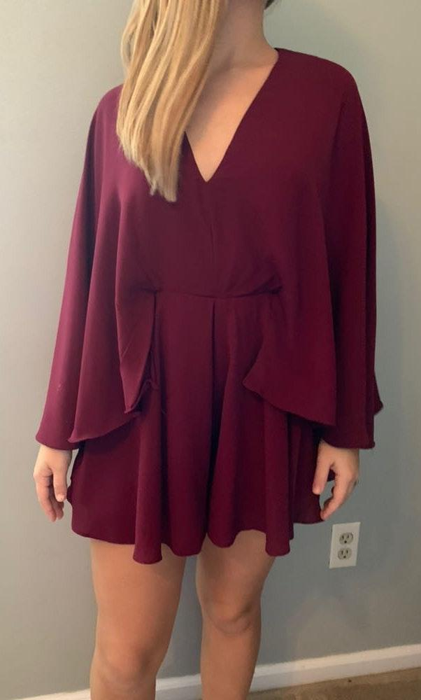 DO+BE Maroon Romper