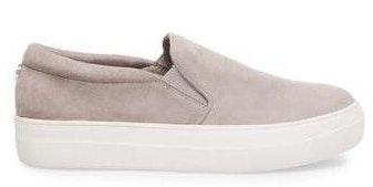 Steve Madden Gray Gills Slip On