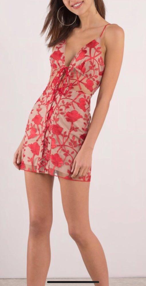 Tobi Flirty Valentines Dress