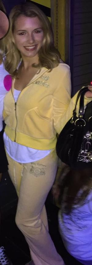 Juicy Couture Yellow Velour Tracksuit