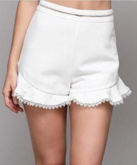 DO+BE White Shorts