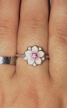 Pandora Magnolia Bloom  ring