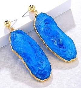 Anthropologie Crystal Dangle Earrings